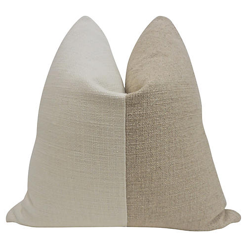 FI Gitano Ivory & Breeze Pillow