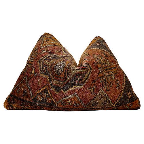 """Berber """"Large"""" Kilim Wool Pillow"""