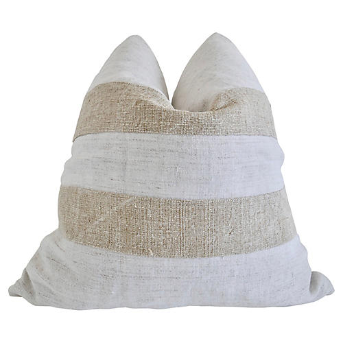 FI Hemp Linen Mixed Pillow