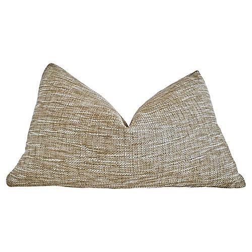 FI Sisal & White Terry Loop Pillow