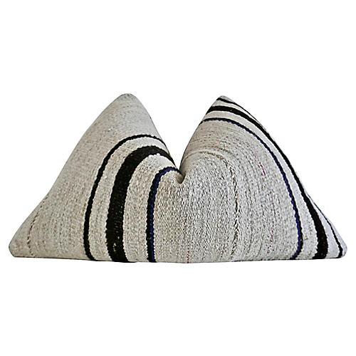 Berber Tribe Kilim Wool Rug Pillow