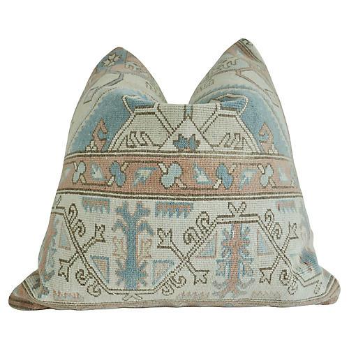 Vintage Berber Tribal Kilim Wool Pillow