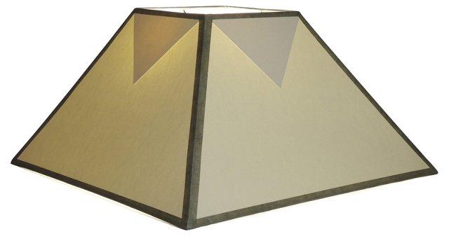 Triangle-Design Paper Shade