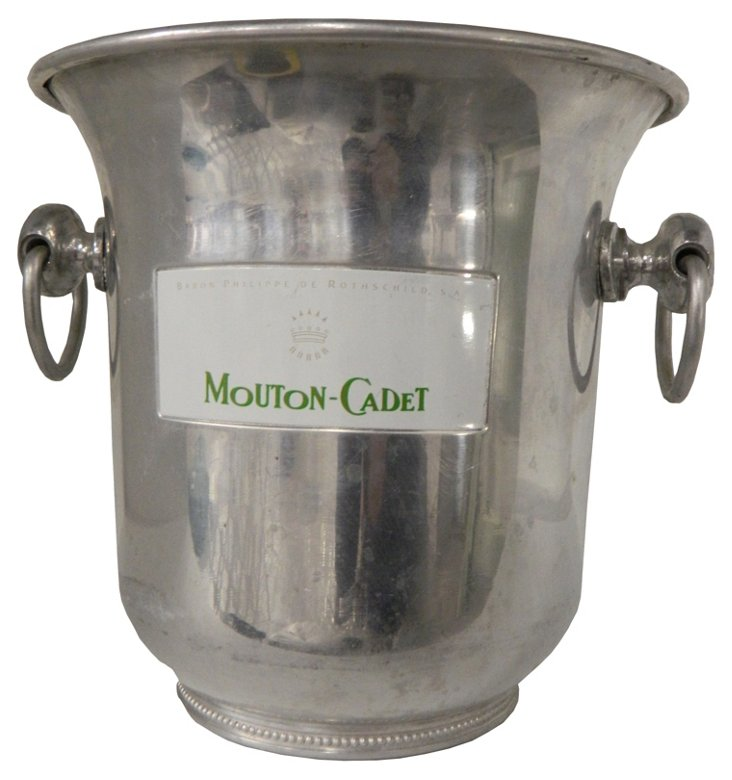 French Mouton-Cadet Champagne Bucket