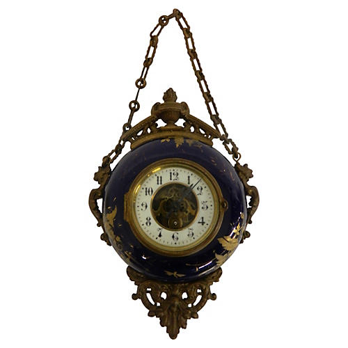 French Napoleon III Boulangere Clock