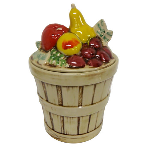 McCoy Fruit Harvest Cookie Jar
