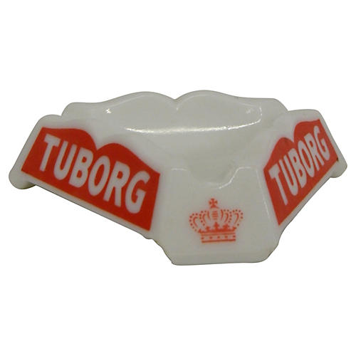 French Tuborg Bistro Ashtray