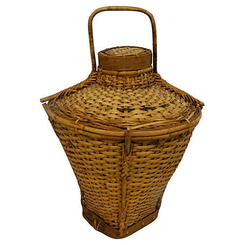 Woven Chinese Grain Basket