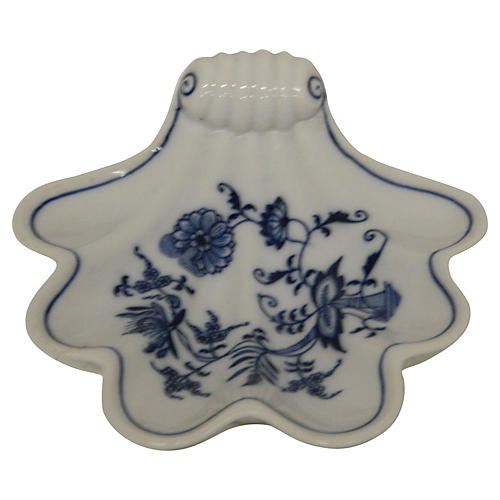 Nordic Blue & White Shell Catchall