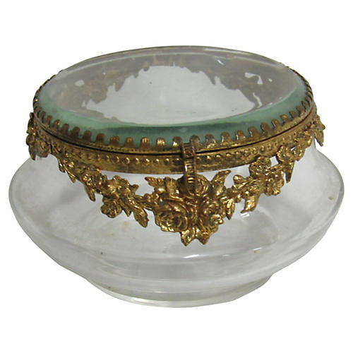 French Ormolu Boudoir Box