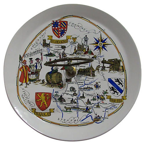 French Luneville Provence Cheese Tray