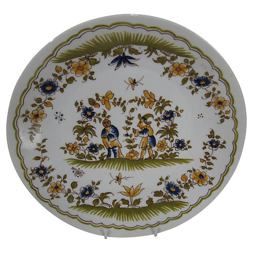 French Moustiers St Marie Wall Plate
