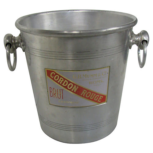 Vintage Cordon Rouge Champagne Bucket
