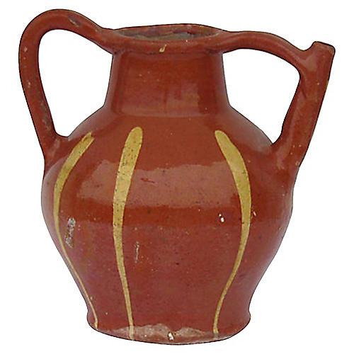 Antique Basque Wine Vessel