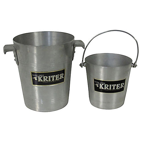 French Kriter Champagne & Ice Buckets