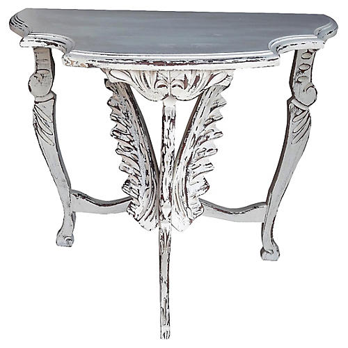 Swan Revival Distressed Table
