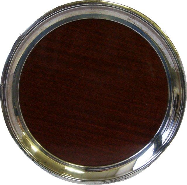 Silverplate Holloware  Tray