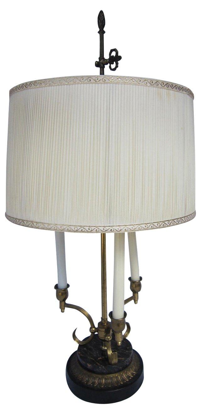 Brass Bouillette Lamp