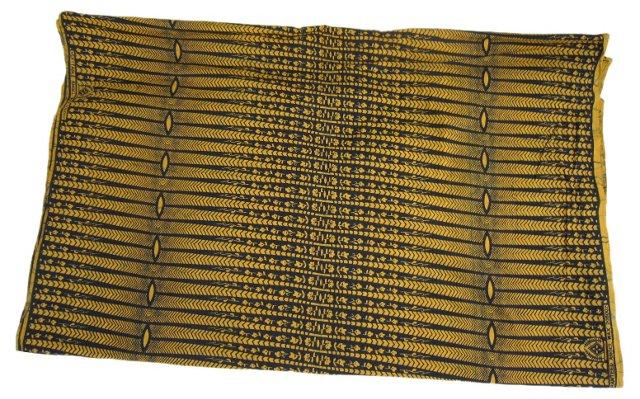 African Batik Fabric, 2.8 Yds