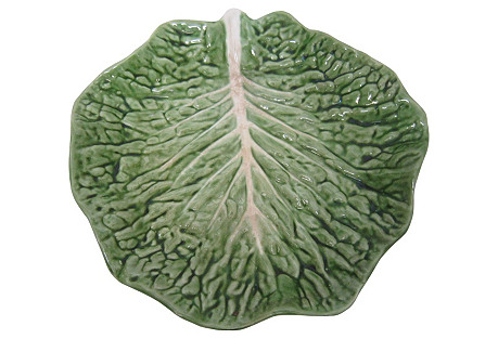 Lettuce Pottery Platter