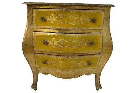 Italian Bombé Chest
