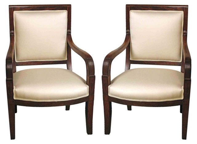 Empire Chairs, Pair