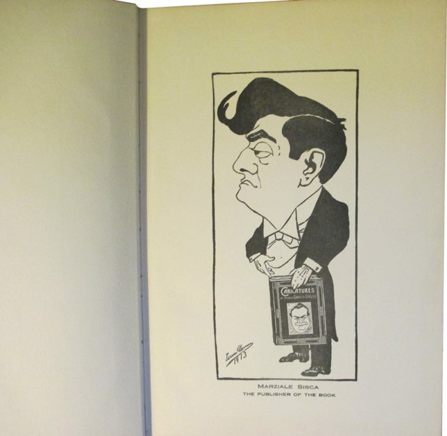 Caricatures by Enrico Caruso, 1st Ed