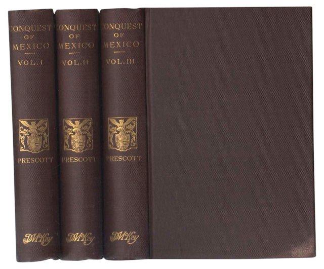 The Conquest of Mexico, 3 Vols