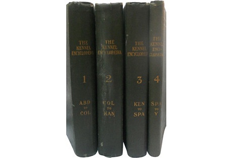 Limited Ed. Kennel Encyclopedia, S/4