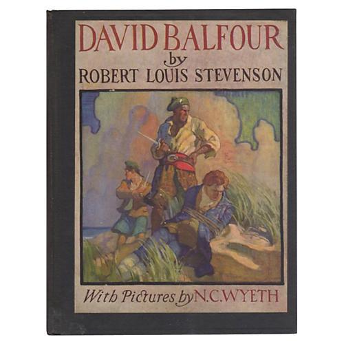 David Balfour,1st Wyeth Edition