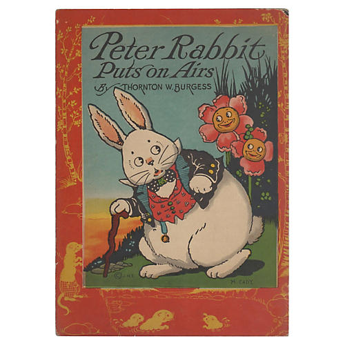 Peter Rabbit Puts on Airs