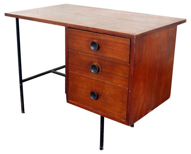 Gilbert Rohde-Style Desk w/ Metal Base