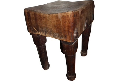 1850s  Butcher Block