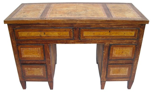 Early-19th-C. Italian Painted Desk