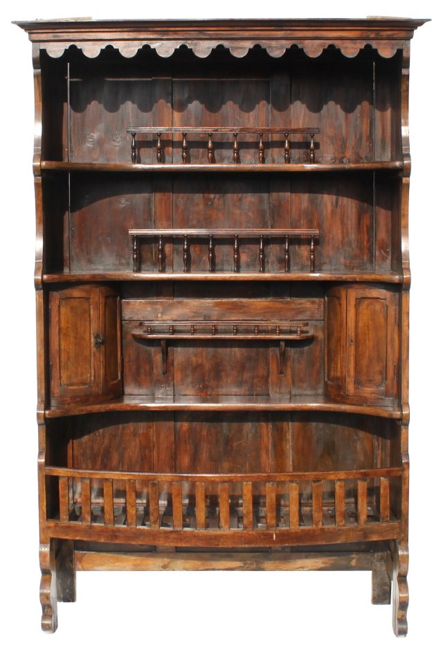 Continental Grain Cupboard, C. 1800
