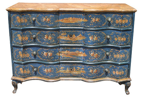Venetian Painted Commode