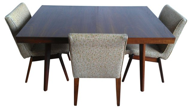 Glenn of CA Dining Table & 6 Chairs
