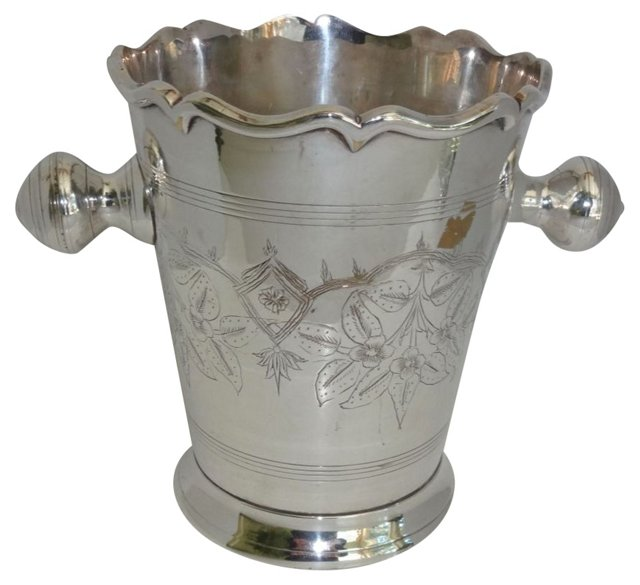 Silverplate Champagne Bucket