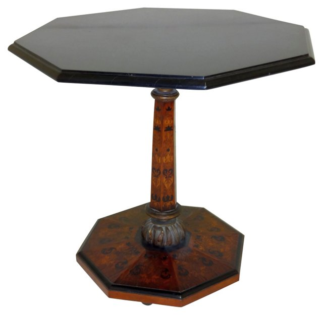 Marquetry Inlaid Table
