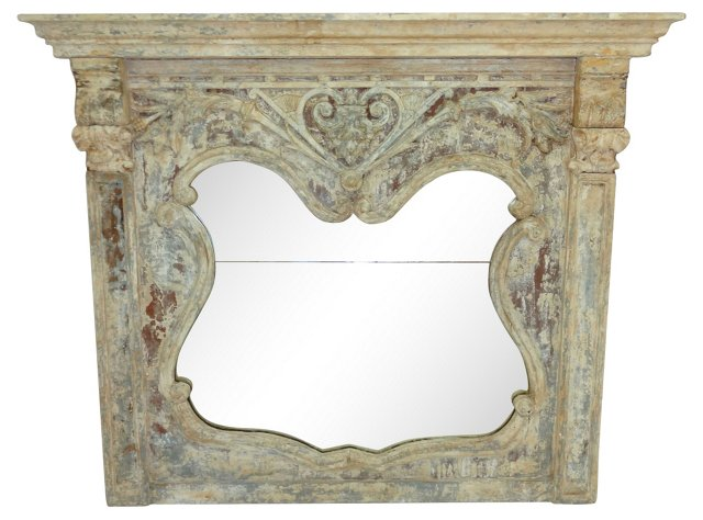 French Mantel Mirror