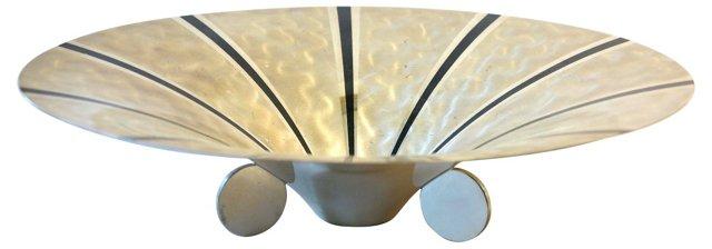 1940s Deco Bowl by WMF Ikora