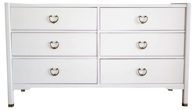 White   Lacquered Dresser