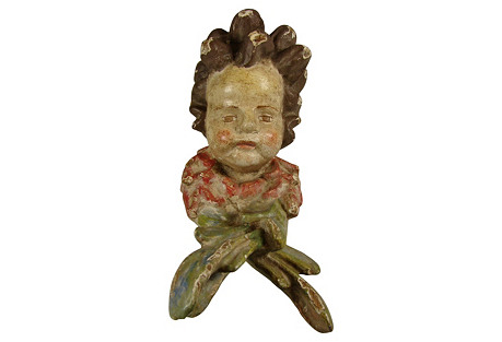 Wood Putto