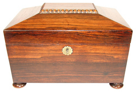 Regency Rosewood Box