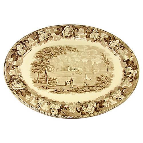19th-C. Wedgwood Platter