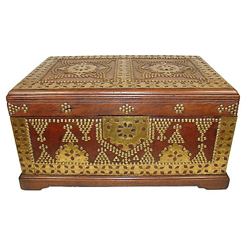 19th-C. Anglo-Indian Box
