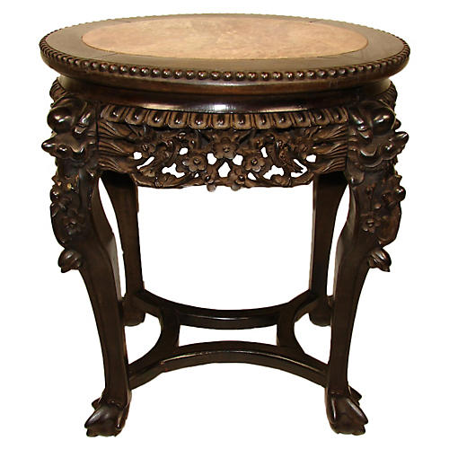 Chinese Rosewood Side Table