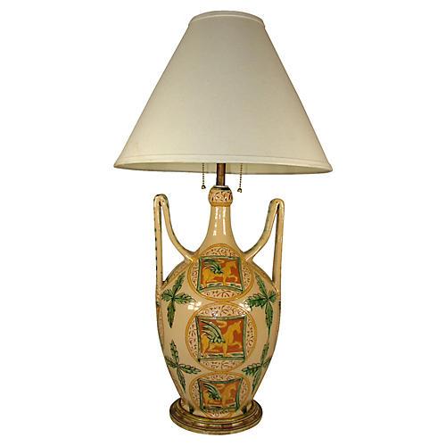 Moorish Inspired Lamp
