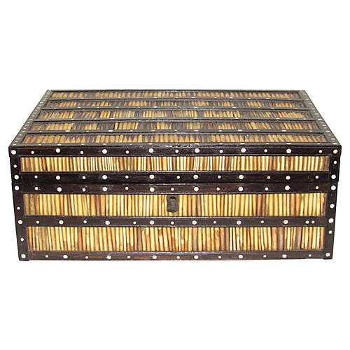 Large Porcupine Quill Box