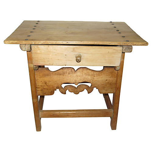 19th C. Spanish Pine Table